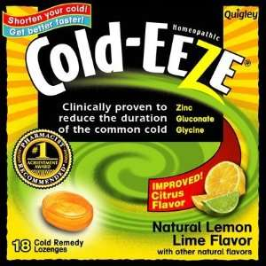 Cold Eeze Cough Suppressant Drops Bag with Citrus Flavor