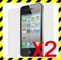 New Apple iPhone 4G Clean Screen Protector Cover 2pcs USPS just fore