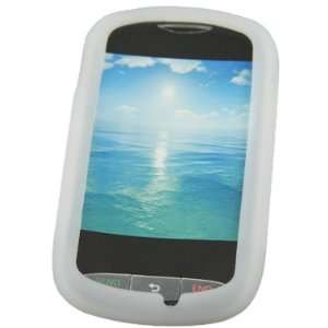 Clear Silicone Skin Case For LG 800g: Cell Phones