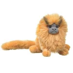 8 Golden Lion Tamarin Monkey Plush Stuffed Animal Toy
