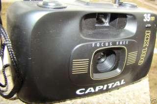 Vintage CAPITAL 35MM Camera with Original Box HOT SHOE