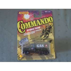 Commando Strike Team Peterbilt Tanker Truck (1988): Toys & Games
