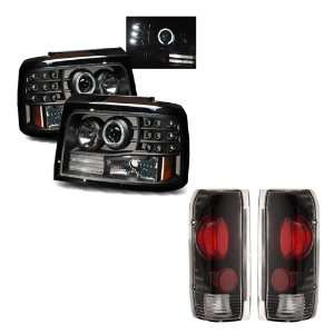 Headlights /w Side Markers & Parking Lights + Tail Lights Combo