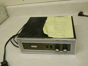 Plectron Low Band 39.98mhz 1975 Tone Receiver fire public safety radio