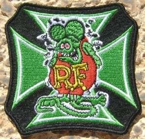 RAT FINK ED ROTH RF HARLEY BIKER HOT ROD RACING PATCH