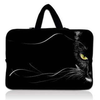 17 17.3Zebra Print Laptop Soft Sleeve Bag Case+Handle