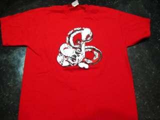 Snake & Skull L Tattoo Art Flash T shirt