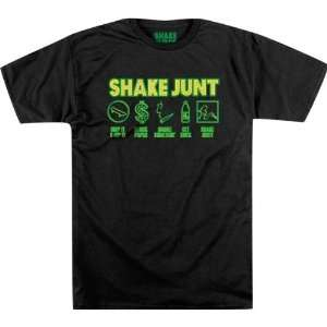 Shake Junt Code Of The Junt Small Black Sale Short SLV