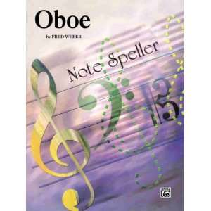 Note Spellers Oboe (9780769224343) Fred Weber Books
