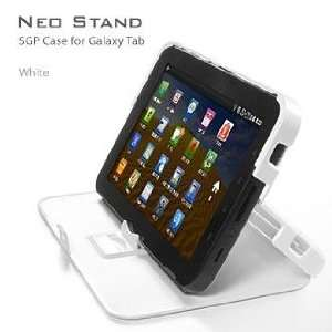 SGP Samsung Galaxy Tab Case NEO Stand Series [White] Cell