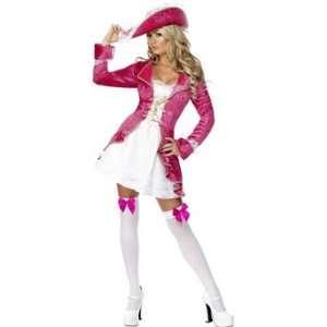 Fever Sexy Pirates Treasure Fancy Dress Costume Size 12 14 Medium