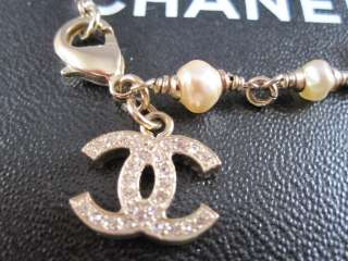Auth CHANEL 09A Mini Pearl Beads Lucky Bracelet NEW