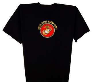 Marine Corps logo T Shirt S 5XL military