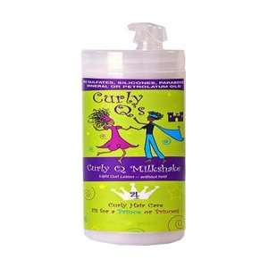 Curls Curly Q Milkshake   Curl Lotion for Fine Curly Hair