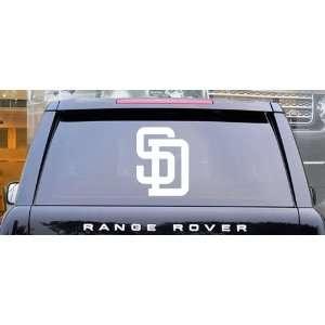 San Diego Padres MLB Vinyl Decal Sticker / 12 x 9.1