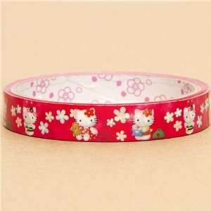 cute Hello Kitty Deco Tape Scotch tape flowers bee Toys
