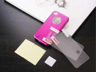 Diamond Crystal Case Cover F iPhone 4S 4 + Free Screen Film