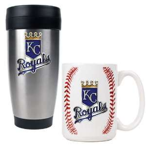 Kansas City Royals MLB Stainless Steel Travel Tumbler & Game ball