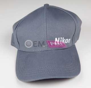 Baseball Cap Hat Grey D4 D8000 D700 D5100 Body New Great Gift