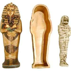 Miniature Replica of the King Tut Sarcophagus: Home & Kitchen