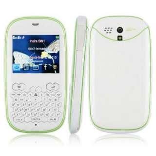 Band Phone Dual SIM Card Dual Camera TV Java Bluetooth FM 2.2 White