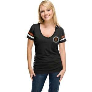 San Francisco Giants Womens Jet Black Post Season T Shirt