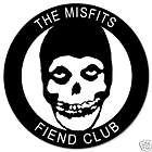 Misfits Fiend Club car bumper sticker decal 4 x 4