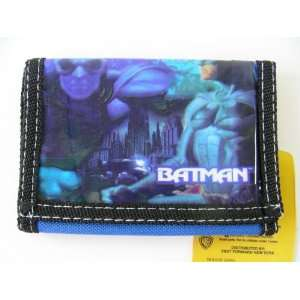 Dc Comic Batman Wallet   Batman Kid Trifold Wallet [Toy