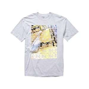 Dc Shoes ~ Hiro ~ Mens Short Sleeve Tee Shirt (Large, Grey