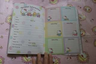 2012 Sanrio Hello Kitty Japan Datebook Diary Book Schedule Planner L