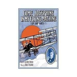 e Josephine In My Flying Machine 20x30 poster