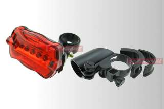 7w CREE Q5 LED Zoomable Bike Bicycle Head Light +Rear Flashlight Torch