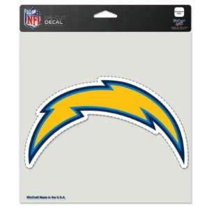 SAN DIEGO CHARGERS OFFICIAL LOGO COLOR DIE CUT DECAL