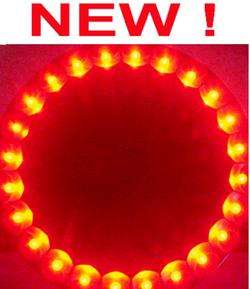 Wildlife/Deer Feeder Red LED Night Light,Hog Hunting Nightlight,New