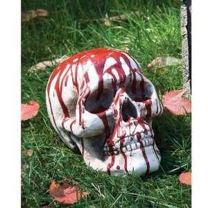 Bloody Skull with Jaw: Home Improvement