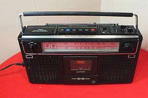Rare Vintage  Roebuck AM/FM Stereo Radio Cassette Recorder