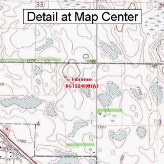Map   Florence, South Dakota (Folded/Waterproof) Sports & Outdoors