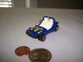 1969 Hot Wheels Redline Blue Spectraflame Daddy Dune Buggy Car  