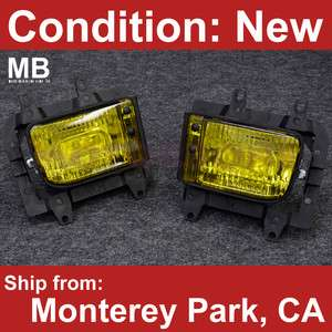 85 93 Crystal Clear Yellow Lens OEM Style Replacement 3 Series