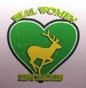 Rebel T Shirt Real Women Drive Tractors Redneck Southern Belle John