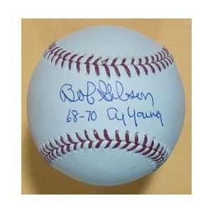 Bob Gibson Autographed St Louis Cardinals MLB Baseball w