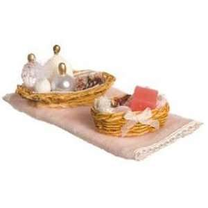 Dollhouse Pink Bathroom Accessories Toys & Games
