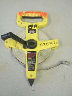 Empire 100FT Fiberglass Measuring Survey Tape Reel