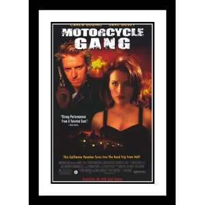 Motorcycle Gang 20x26 Framed and Double Matted Movie Poster   Style A