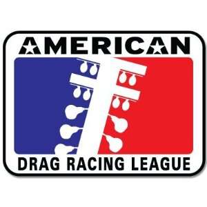 American Drag Racing ADA car bumper sticker 5 x 4