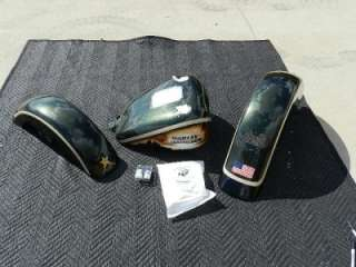 FLSTF Softail Fatboy Military Army Paint Set Radical New #89