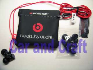Monster Beats dr.dre Genuine HTC Earbud Headphone Earphone iPhone 4