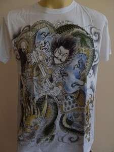 Emperor Eternity Dragon Killer Samurai Tattoo M L
