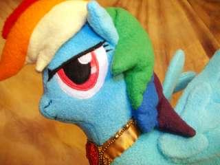 Custom Rainbow Dash Handmade Plush My Little Pony G4 FiM Elements of