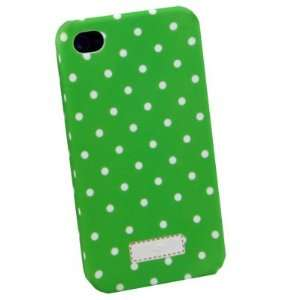 Green Dotwave Slim Hard Case Cover For iPhone 4 4G
